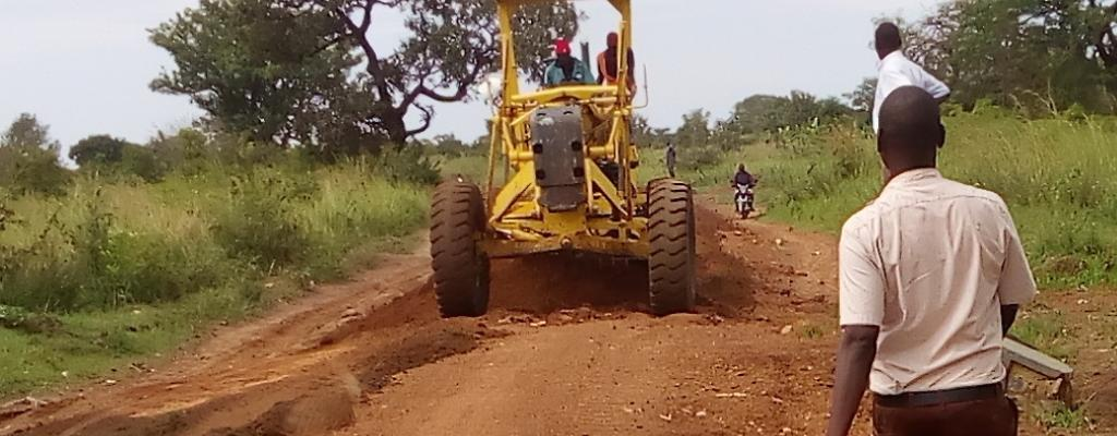 The road works